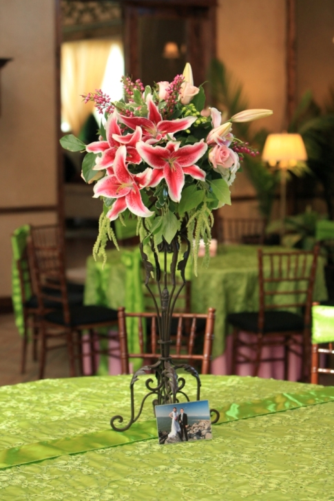 and half for your table centerpiecesfor example4 big tall arrangements