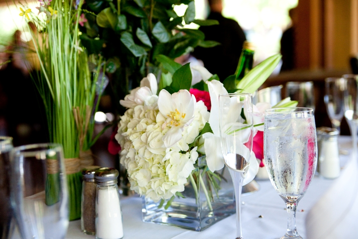 summer wedding reception centerpieces idea