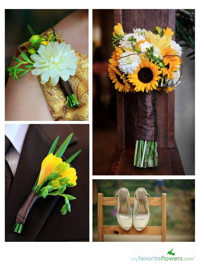 Wedding Floral Packages San Diego : Pin dahlias freesia fuji mums and tulips with a navy blue