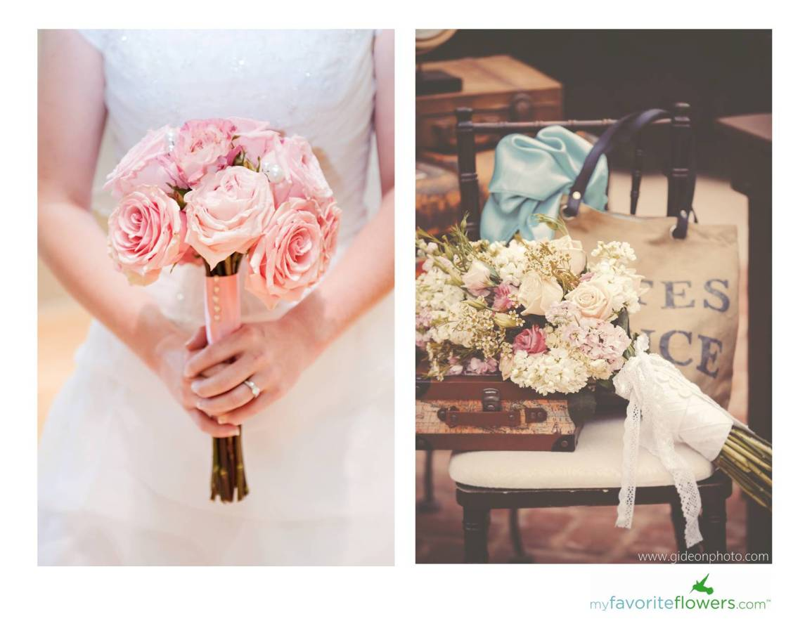 Wedding Flowers}: 8 Gorgeous Pink Bridal Bouquets by ...