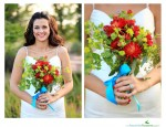 Summer bridal bouquet for a garden style wedding