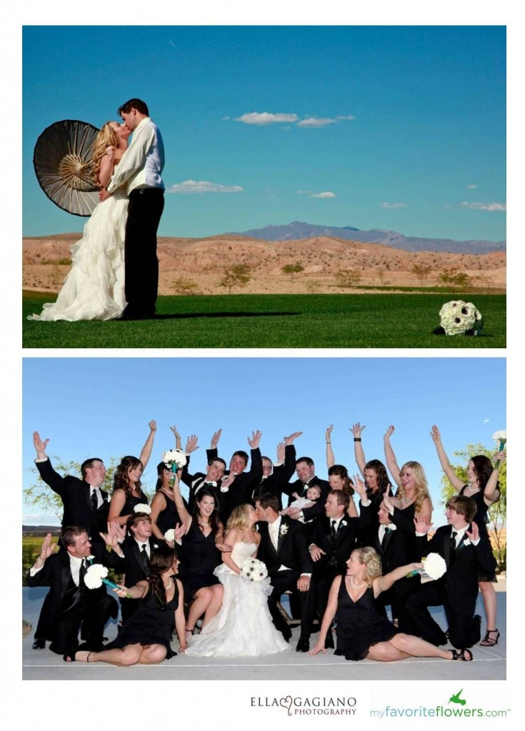Summer wedding in Mesquite Nevada