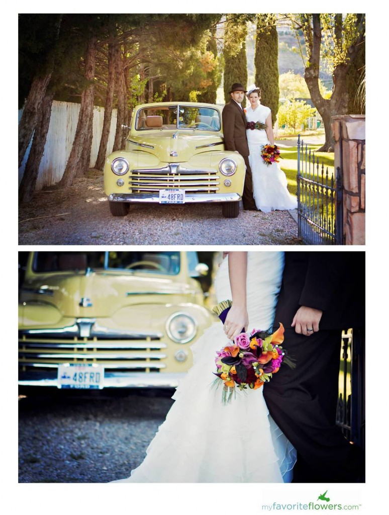 vintage style wedding pictures by andi watkins photography