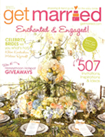 Get Married Magazine cover 01.2010